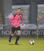 Scotland's Jamie McCart - Scotland under 21s v Estonia international challenge match at St Mirren Park, St Mirren. Pic David Young<br />  <br /> - &copy; David Young - www.davidyoungphoto.co.uk - email: davidyoungphoto@gmail.com
