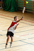 Badminton, Grand Prix Mazowsza for kids. KS Hubertus. photo by Piotr Gesicki