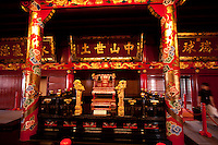 Painstakingly restored to its former glory, Shuri Castle, Naha, Okinawa, Japan brings the ancient world of the Ryukyu Kingdom back to life.