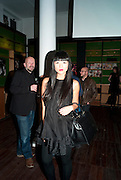 LISA NGUYEN, 30 Years Of i-D - book launch. Q Book 5-8 Lower John Street, London . 4 November 2010. -DO NOT ARCHIVE-© Copyright Photograph by Dafydd Jones. 248 Clapham Rd. London SW9 0PZ. Tel 0207 820 0771. www.dafjones.com.