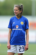 Lizzie Arnot (#23) of Scotland ahead of the FIFA Women's World Cup UEFA Qualifier match between Scotland Women and Belarus Women at Falkirk Stadium, Falkirk, Scotland on 7 June 2018. Picture by Craig Doyle.