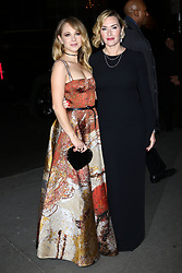 "Juno Temple and Kate Winslet attend a screening of ""Wonder Wheel"" at the Museum of Modern Art in New York."