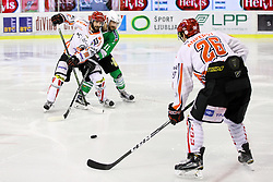 Jaka Ankerst of Jesenice during ice hockey match between HDD Olimpija Ljubljana and HDD SIJ Acroni Jesenice in Final of Slovenian League 2016/17, on April 6, 2017 in Hala Tivoli, Ljubljana, Slovenia. Photo by Matic Klansek Velej/ Sportida