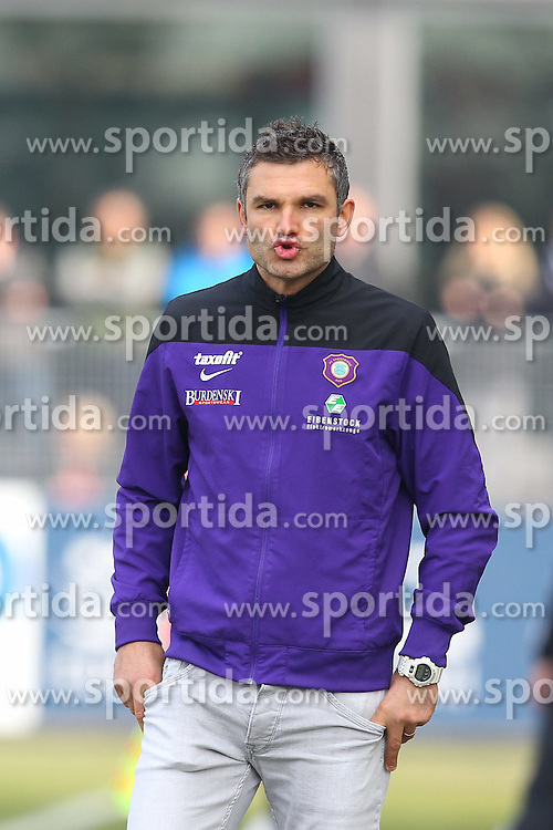 15.03.2015, Esprit-Arena, Aalen, GER, 2. FBL, VfR Aalen vs FC Erzgebirge Aue, 25. Runde, im Bild Cheftrainer Tommy Stipic ( FC Erzgebirge Aue ) // during the 2nd German Bundesliga 25th round match between VfR Aalen and FC Erzgebirge Aue at the Esprit-Arena in Aalen, Germany on 2015/03/15. EXPA Pictures &copy; 2015, PhotoCredit: EXPA/ Eibner-Pressefoto/ Langer<br /> <br /> *****ATTENTION - OUT of GER*****