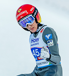 27.02.2019, Seefeld, AUT, FIS Weltmeisterschaften Ski Nordisch, Seefeld 2019, Skisprung, Damen, im Bild Daniela Iraschko-Stolz (AUT) // Daniela Iraschko-Stolz of Austria during the ladie's Skijumping of the FIS Nordic Ski World Championships 2019. Seefeld, Austria on 2019/02/27. EXPA Pictures © 2019, PhotoCredit: EXPA/ Stefan Adelsberger