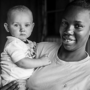 Isaiah was born addicted. His foster mom, Tasha, has cared for him since he was three days old.