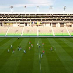 20100810: SLO, Football - Practice of  Slovenia team at new stadium in Stozice