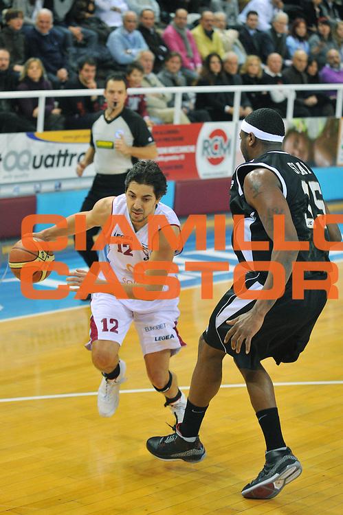 DESCRIZIONE : Rieti Lega A1 2008-09 Solsonica Rieti Eldo Caserta<br /> GIOCATORE : Patricio Prato <br /> SQUADRA : Solsonica Rieti<br /> EVENTO : Campionato Lega A1 2008-2009 <br /> GARA : Solsonica Rieti Eldo Caserta <br /> DATA : 04/01/2009<br /> CATEGORIA : Palleggio<br /> SPORT : Pallacanestro <br /> AUTORE : Agenzia Ciamillo-Castoria/E.Grillotti