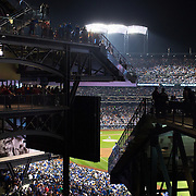 Clayton Kershaw, Los Angeles Dodgers, pitching during<br /> MLB Baseball NLDS Playoff: Los Angeles Dodgers v New York Mets<br /> postseason playoffs - NLDS Game 4 game action<br /> Citi Field/New York, NY, USA<br /> 10/13/2015<br /> X160040 TK1<br /> Credit: Tim Clayton