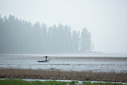 Davis Lake, Oregon - Fly fishing, camping, van photos, stock images