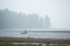 Davis Lake, Oregon - Fly fishing, camping, van photos, stock images