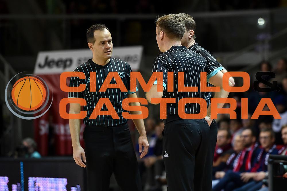 Arbitro, Referee,<br /> SIG Strasbourg - Banco di Sardegna Dinamo Sassari<br /> FIBA BCL Basketball Champions League 2018-20<br /> Strasburgo, 22/01/2020<br /> Foto L.Canu / Ciamillo-Castoria