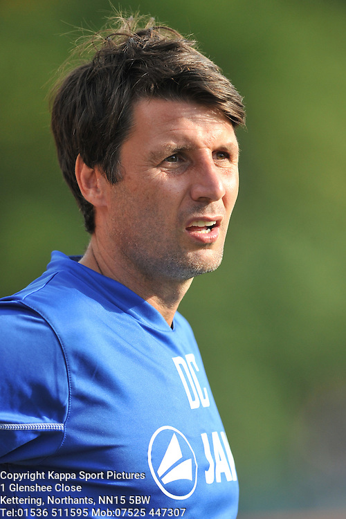 Danny Cowley Manager Braintree Town, Braintree Town v Barrow AFC, Avanti Stadium Braintree, Vanarama National League, Saturday, 12th September 2015. Braintree Town v Barrow AFC, Avanti Stadium Braintree, Vanarama National League, Saturday, 12th September 2015.