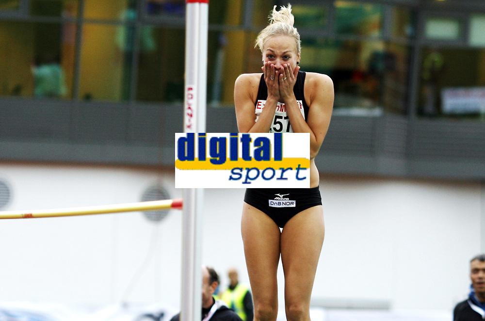 Friidrett, , 20. august  2010 , NM senior , hovedmesterskapet <br /> <br /> &Oslash;yunn Grindem , Tjalve tok s&oslash;lv med 1,89 meter i h&oslash;yde