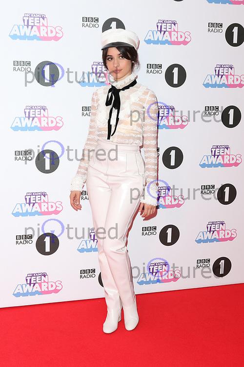Camila Cabello, Radio 1 Teen Awards, SSE Arena Wembley, London UK, 22 October 2017, Photo by Richard Goldschmidt