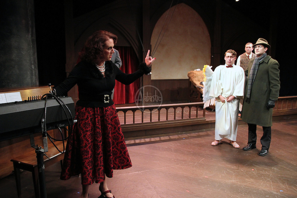 Book-It Repertory Theatre's production of Owen Meany's Christmas Pageant, 2012.