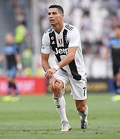 FUSSBALL INTERNATIONAL   SERIE A  02. Spieltag  SAISON 2018/2019 Juventus Turin - Lazio Rom           25.08.2018 Cristiano Ronaldo (Juventus Turin)