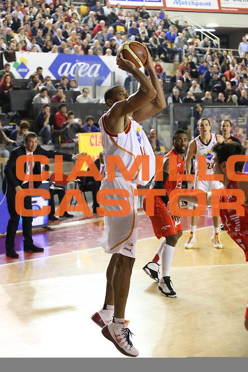 DESCRIZIONE : Roma Campionato Lega A 2013-14 Acea Virtus Roma EA7 Emporio Armani Milano <br /> GIOCATORE : Hosley Quinton<br /> CATEGORIA : tiro<br /> SQUADRA : Acea Virtus Roma<br /> EVENTO : Campionato Lega A 2013-2014<br /> GARA : Acea Virtus Roma EA7 Emporio Armani Milano <br /> DATA : 02/12/2013<br /> SPORT : Pallacanestro<br /> AUTORE : Agenzia Ciamillo-Castoria/M.Simoni<br /> Galleria : Lega Basket A 2013-2014<br /> Fotonotizia : Roma Campionato Lega A 2013-14 Acea Virtus Roma EA7 Emporio Armani Milano <br /> Predefinita :