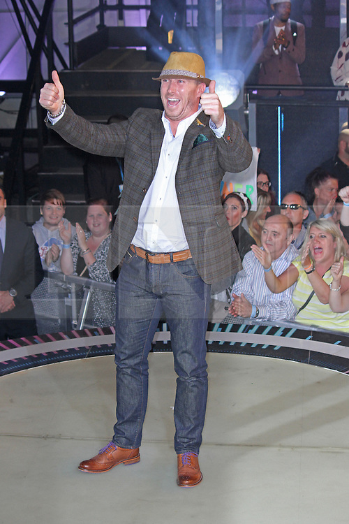 © Licensed to London News Pictures. 12/09/2014, UK. James Jordan, Celebrity Big Brother Summer 2014 - Live Final, Elstree Studios, Elstree UK, 12 September 2014. Photo credit : Brett D. Cove/Piqtured/LNP