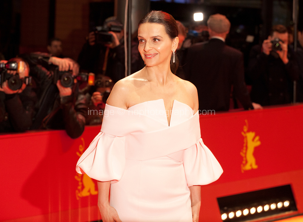 Juliette Binoche, Jury President at the Award Ceremony red carpet at the 69th Berlinale International Film Festival, on Saturday 16th February 2019, Berlinale Palast, Berlin, Germany.