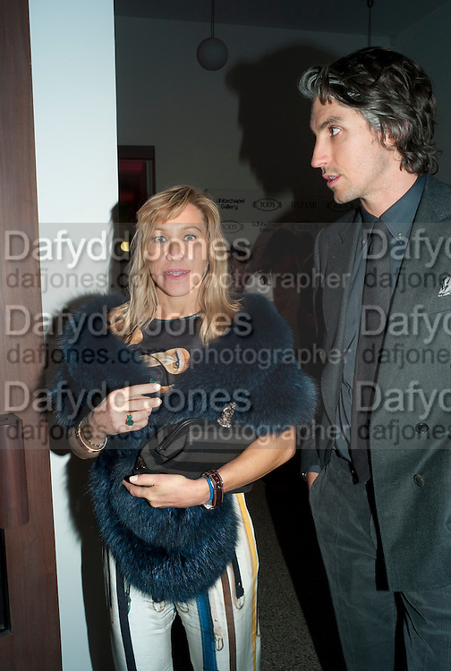 MAIA NORMAN; GEORGE LAMB, TODÕS Art Plus Drama Party 2011. Whitechapel GalleryÕs annual fundraising party in partnership. Whitechapel Gallery. London. 24 March 2011.  with TODÕS and supported by HarperÕs Bazaar-DO NOT ARCHIVE-© Copyright Photograph by Dafydd Jones. 248 Clapham Rd. London SW9 0PZ. Tel 0207 820 0771. www.dafjones.com.<br /> MAIA NORMAN; GEORGE LAMB, TOD'S Art Plus Drama Party 2011. Whitechapel Gallery's annual fundraising party in partnership. Whitechapel Gallery. London. 24 March 2011.  with TOD'S and supported by Harper's Bazaar-DO NOT ARCHIVE-© Copyright Photograph by Dafydd Jones. 248 Clapham Rd. London SW9 0PZ. Tel 0207 820 0771. www.dafjones.com.