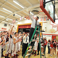 2.19.2013 Brookside at Firelands Boys Varsity Basketball