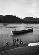 River ferry on the Mekong.
