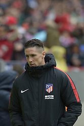 March 11, 2018 - Madrid, Madrid, Spain - Fernando Torres of Atletico de Madrid during a match between Atletico de Madrid vs Celta de Vigo at Wanda Metropolitano Stadium on Febraury 18, 2018 in Madrid, Spain. (Credit Image: © Patricio Realpe/NurPhoto via ZUMA Press)