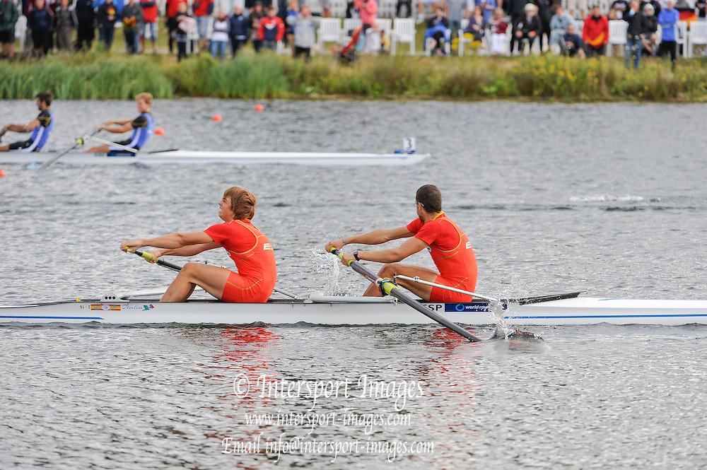 Eton. Great Britain. JM2-, Final,  FISA Junior  World Rowing Championships. Dorney Lake, Nr Windsor. Sunday, 07/08/2011 [Mandatory credit: Intersport Images]