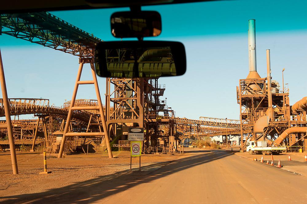 Port Hedland, Pilbara, Western Australia - Photograph by David Dare Parker °SOUTH