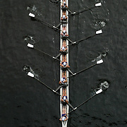 Rowing through the Montlake Cut