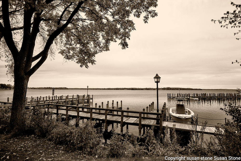 Lake Minnetonka, Minnesota black and white  photos