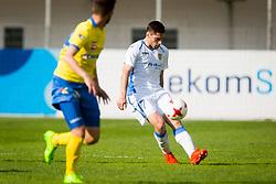Matija Sirok of NK Domzale during football match between NK Celje and NK Domžale in 27th Round of Prva Liga Telekom Slovenije 2016/17, on April 1, 2017 in Arena Petrol, Celje, Slovenia. Photo by Ziga Zupan / Sportida
