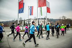 Priprave Ljubljanski maraton 2019, on January 5, 2018 in Koseze, Ljubljana, Slovenia. Photo by Vid Ponikvar / Sportida