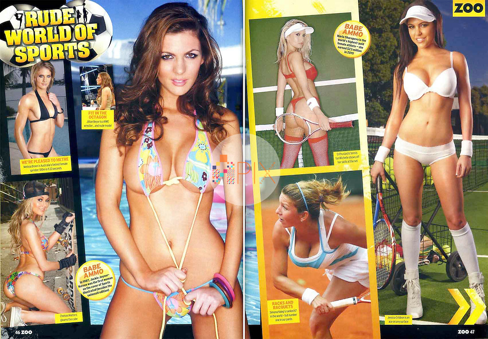 Melissa Breen, Jillian Beyor and Jess Cribbon in ZOO WEEKLY Australia :: June 2011