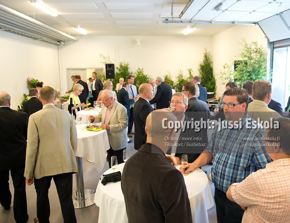 Eerikkilä Areenan avajaistilaisuus. Eerikkilä, 25.6.2013. Photo: Jussi Eskola