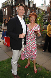 ESTHER RANTZEN and MICHAEL BOWEN at the Lady Taverners Westminster Abbey Garden Party, The College Garden, Westminster Abbey, London SW1 on 10th July 2007.<br /><br />NON EXCLUSIVE - WORLD RIGHTS