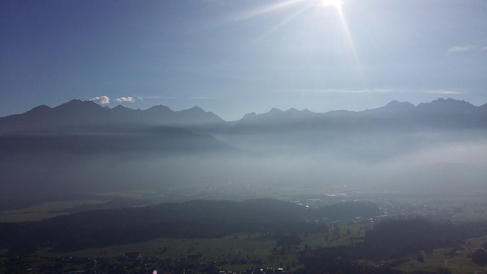 Vorarlberg Austria in autumn