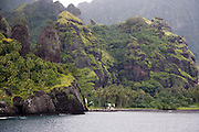 Bay of Virgins, Hanavave, Island of Fatu Hiva, Marquesas Islands, French Polynesia<br />