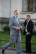 STEPHEN FRY, Service of thanksgiving for  Lord Snowdon, St. Margaret's Westminster. London. 7 April 2017
