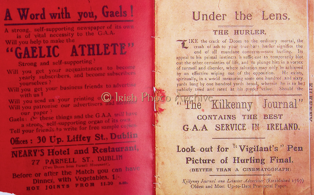 All Ireland Senior Hurling Championship Final,.02.11.1913, 11.02.1913, 2nd November 1913,.Tipperary 1-2, Kilkenny 2-4,.Senior Tipperary v Kilkenny, .Jones's Road Dublin, ..Advertisements, A Word with you Gaels!, Under the Lens, The Kilkenny Journal,