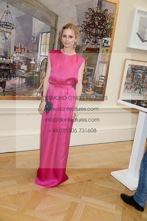 LAURA BAILEY at the preview party for The Royal Academy Of Arts Summer Exhibition 2013 at Royal Academy of Arts, London on 5th June 2013.
