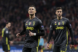 February 20, 2019 - Madrid, Madrid, Spain - Juventus' Cristiano Ronaldo during UEFA Champions League match, Round of 16, 1st leg between Atletico de Madrid and Juventus at Wanda Metropolitano Stadium in Madrid, Spain. February 20, 2019. (Credit Image: © A. Ware/NurPhoto via ZUMA Press)