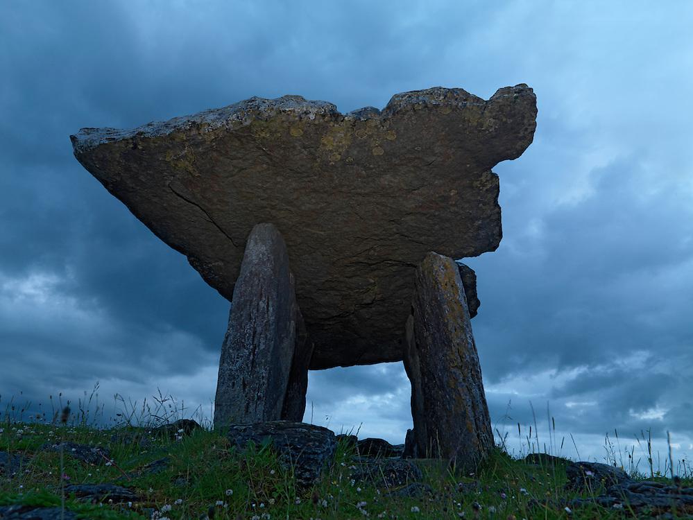 Poulnabrone Portal Dolmen Ireland Burren region