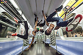 NYC Subway dancers