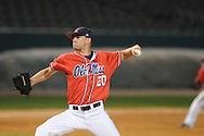 Mississippi pitcher Matt Crouse vs. Memphis at Autozone Park in Memphis, Tenn. on Tuesday, April 13, 2010. Memphis won 6-5.