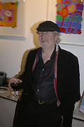 Mick Davies, The Real McCoy. Christmas party and charity art sale. Collyer Bristow. Bedford Row. London. 6 December 2006.  ONE TIME USE ONLY - DO NOT ARCHIVE  © Copyright Photograph by Dafydd Jones 248 CLAPHAM PARK RD. LONDON SW90PZ.  Tel 020 7733 0108 www.dafjones.com