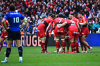 Equipe Toulon - 19.04.2015 - Toulon / Leinster - 1/2Finale European Champions Cup -Marseille<br /> Photo : Andre Delon / Icon Sport