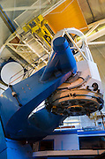The 2.1 meter telescope at Kit Peak National Observatory, Tohono O'odham Indian Reservation, Arizona USA
