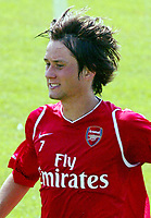 Tomas Rosicky during Arsenal Training session<br />